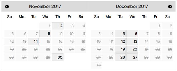 2017年11月12月GMAT湖北武汉大学考场剩余考位一览 考试时间选择建议分享图1