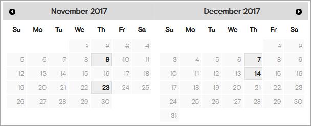 2017年11月12月GMAT哈尔滨黑龙江大学考场剩余考位一览图1