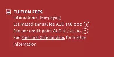 留学费用又涨了!澳大利亚2018年各大学学费正式公布图15