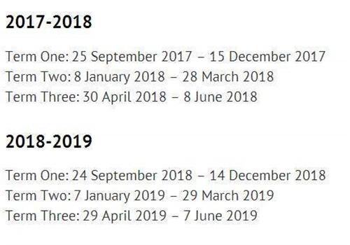 英国留学党注意啦:英国各大学18-19学年放假时间的校历来了!图21