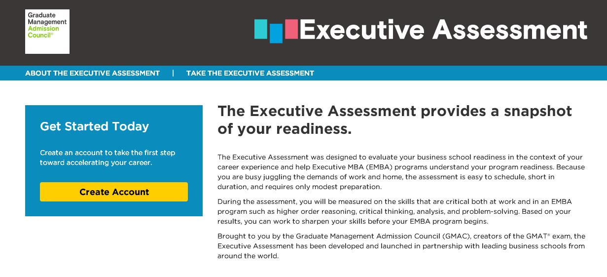 "GMAT官网改版带来在职考生福音:""迷你版""GMAT考试Executive Assessment又回归啦!图1"