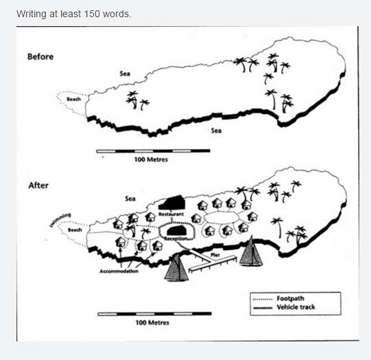高分冲刺:剑桥雅思小作文地图题深度解析图1
