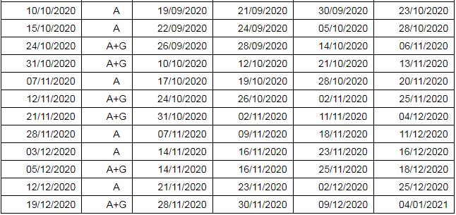 新出炉!雅思2020全年考试日期公布!图4