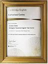劍橋英語官方授權合作考試機構